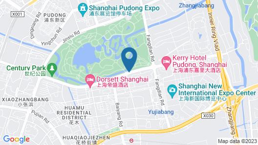 Jumeirah Himalayas Hotel Shanghai Map