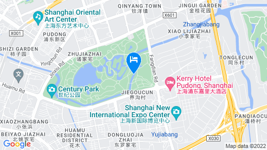 Kerry Hotel Pudong Shanghai Map
