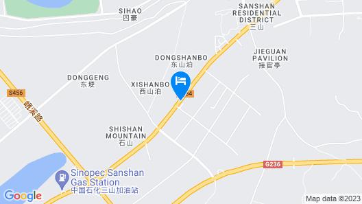 GreenTree AnHui Wuhu Sanshan Development District Express Hotel Map