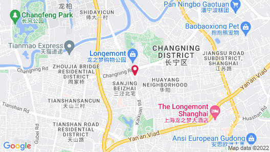 Bs Service Apartment Hotel Map