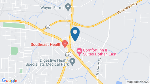 GuestHouse Dothan Map