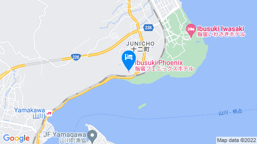 Ibusuki Phoenix Hotel Map