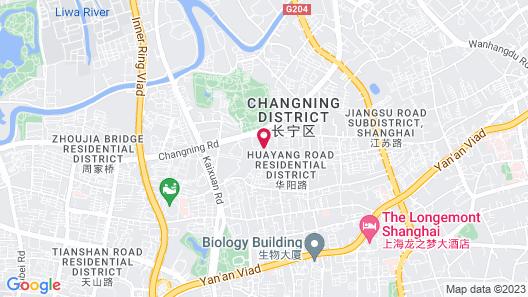 Pentahotel Shanghai Map