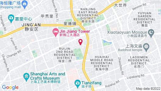 Pudi Boutique Hotel Fuxing Park Shanghai Map