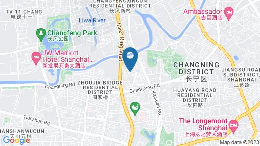Renaissance Shanghai Zhongshan Park Map
