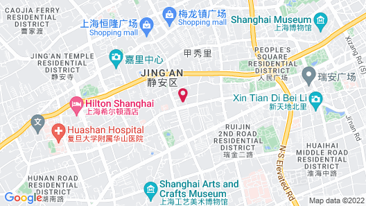 InterContinental Shanghai Ruijin Map