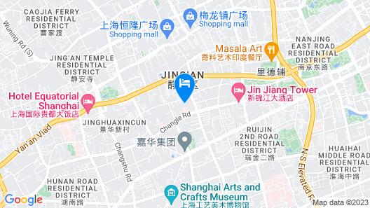 Jin Jiang Hotel Shanghai Map