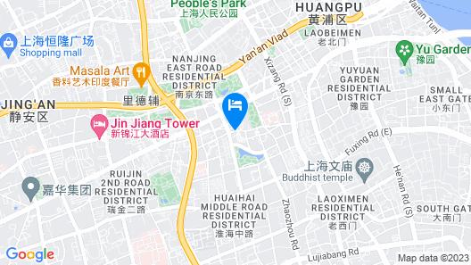 Andaz Xintiandi Shanghai - a concept by Hyatt Map