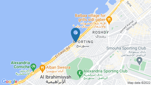 Trio Hotel Kaoud Sporting Map