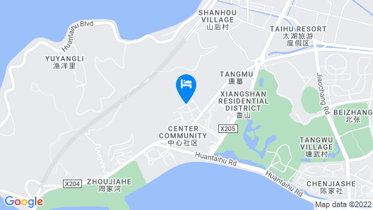 Suzhou Marriott Hotel Taihu Lake Map