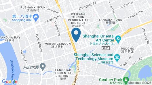 Holiday Inn Shanghai Pudong, an IHG Hotel Map