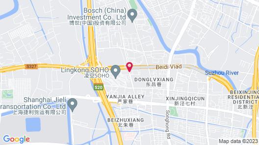 Novotel Shanghai Hongqiao Hotel Map