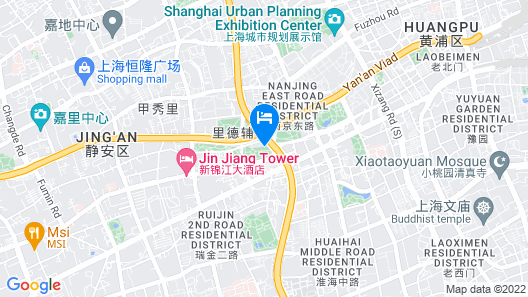 The Langham, Shanghai, Xintiandi Map