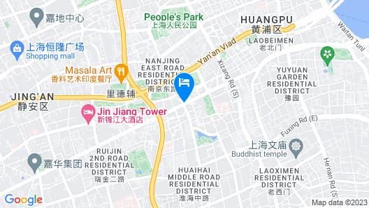 Ascott Huai Hai Road Shanghai Map