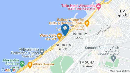 North Coast Princes - Alexandria Map