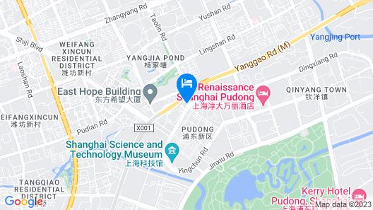 Parkview Hotel Shanghai Map
