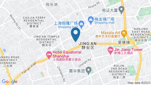 City Hotel Shanghai Map