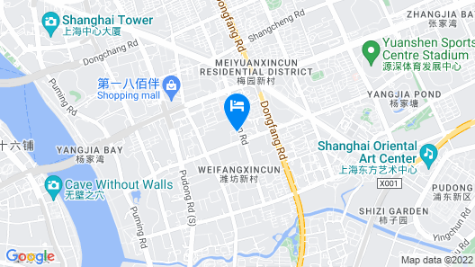 The Hongta Hotel, a Luxury Collection Hotel, Shanghai Map