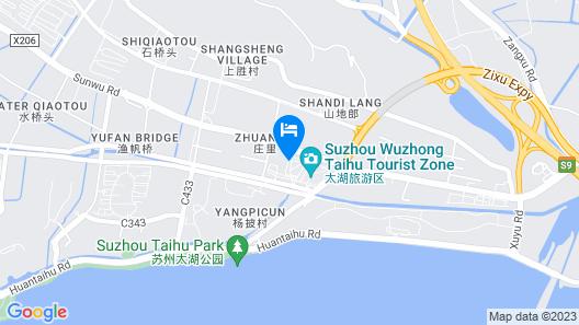 Holiday Inn Express Suzhou Taihu Lake Map