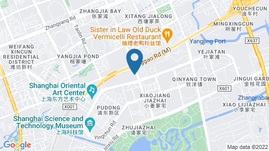 Renaissance Shanghai Pudong Hotel Map