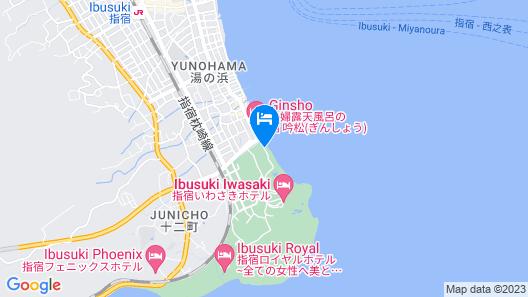 Ibusuki Kaijyo Hotel Map