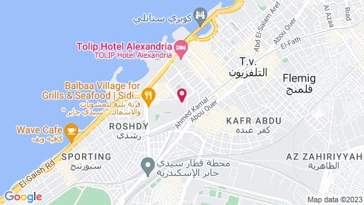 Four Seasons Hotel Alexandria at San Stefano Map
