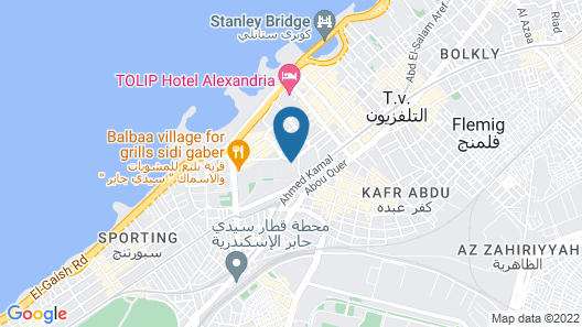 Four Seasons Hotel Alexandria at San Stefano Map