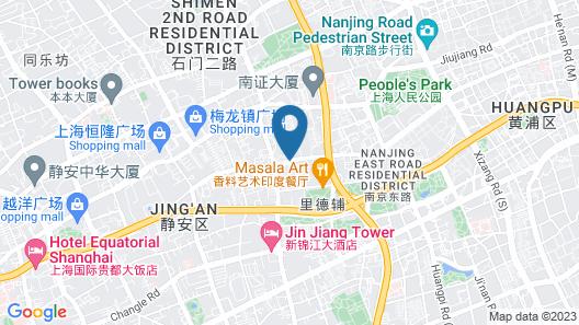 The Sukhothai Shanghai Map