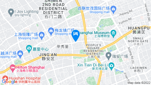 The Sukhothai Shanghai Map