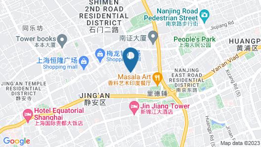 Four Seasons Hotel Shanghai Map