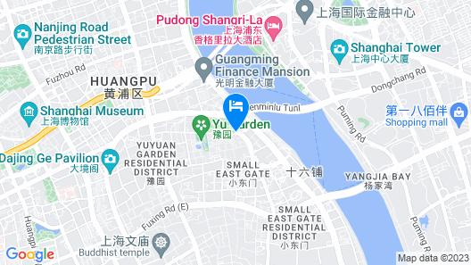 Hotel Indigo Shanghai on The Bund Map