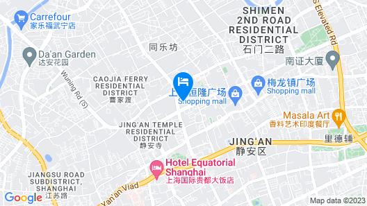 The Portman Ritz-Carlton, Shanghai Map