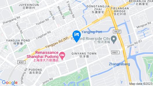 Grand Mercure Shanghai Century Park Hotel Map