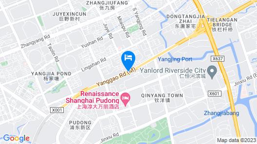 ibis Shanghai Lianyang Map
