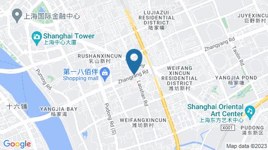 InterContinental Shanghai Pudong Hotel, an IHG Hotel Map