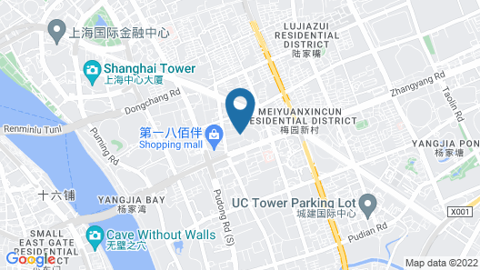 Jinling Purple Mountain Hotel Shanghai (Previously Shanghai Grand Trustel Purple Mountain Hotel) Map