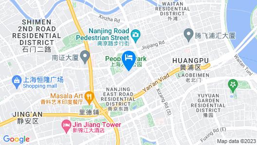 Landsea Apartments(Shanghai Elite Space) Map