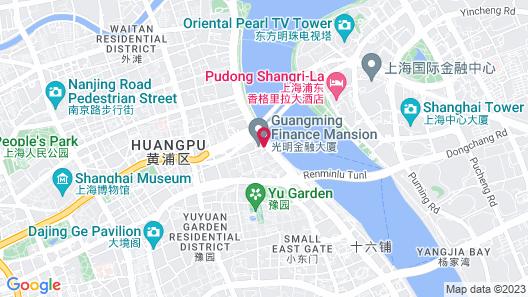 Les Suites Orient, Bund Shanghai Map