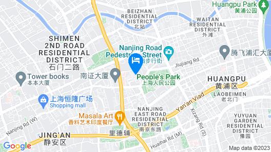 Henry's Apartment Xinchang Road Map