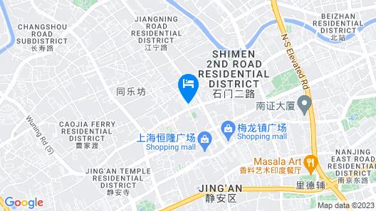The St. Regis Shanghai Jingan Map