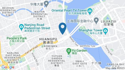 Waldorf Astoria Shanghai on the Bund Map