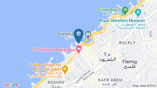 SUNRISE Alex Avenue Hotel Map