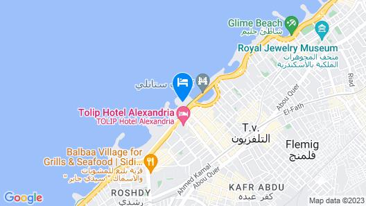 SUNRISE Alex Avenue Hotel Map