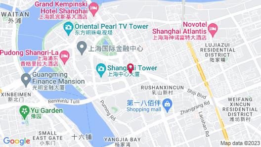 Regent Shanghai Pudong Map
