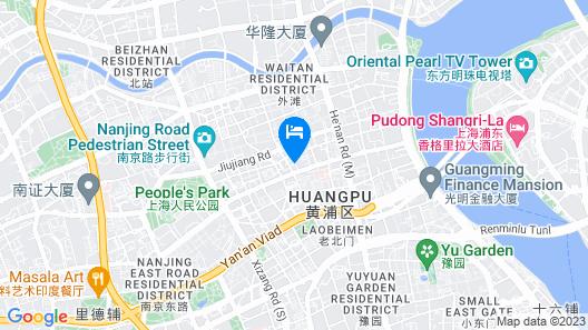 The Westin Bund Center, Shanghai Map