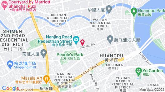Majesty Plaza Shanghai Map