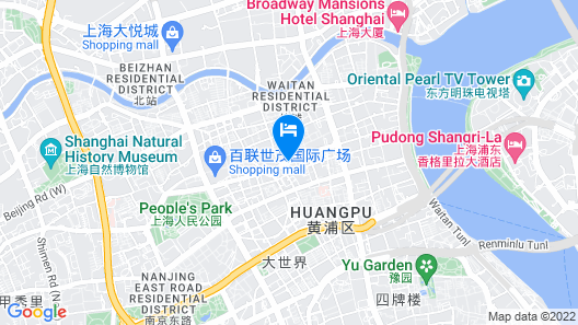 Grand Central Hotel Shanghai Map