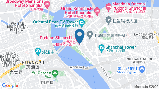 Pudong Shangri-La, Shanghai Map