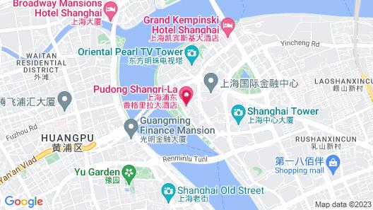 Pudong Shangri-La East Shanghai Map