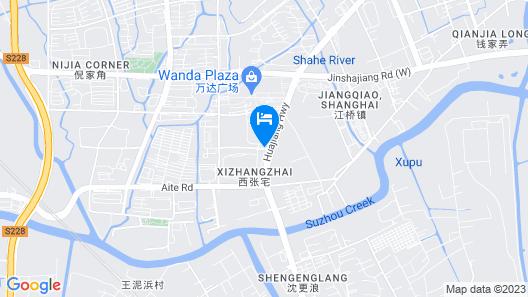 Home Inn - Shanghai Jiangqiao Wanda Plaza Branch Map